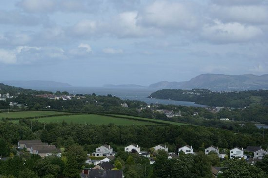 Marquess of Anglesey's Column: Looking out over the place with a long name