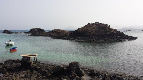 Isla de Lobos: El puertito