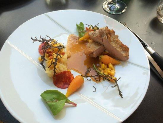 l'u.ni: Lamb dish-- delish