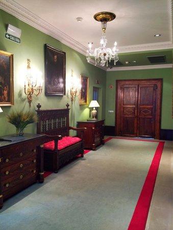 Hotel Palacio Guendulain: L'antichambre d'époque, un bijoux