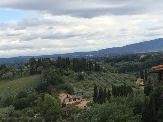 Tuscany in One Day Sightseeing Tour: view from San Gimiginano