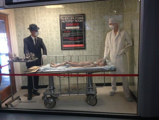 Set pieces from Roswell the movie - Picture of International