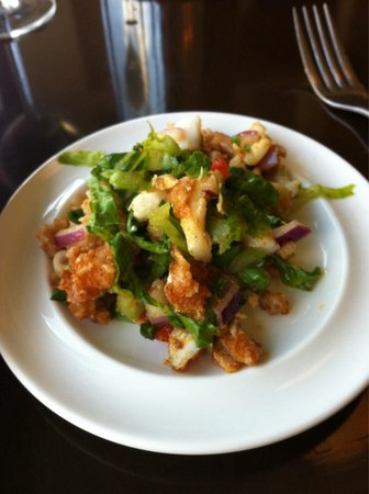 The Star Cafe & Grill: A sampler of the Mauritius fish salad - so yummy