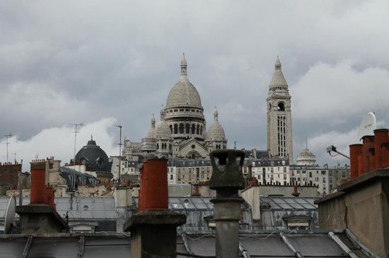 Pax Hotel: One of the most wonderful view in Paris.