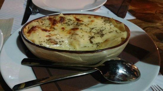Konoba Diva Faustina: Vegetarian lasagna