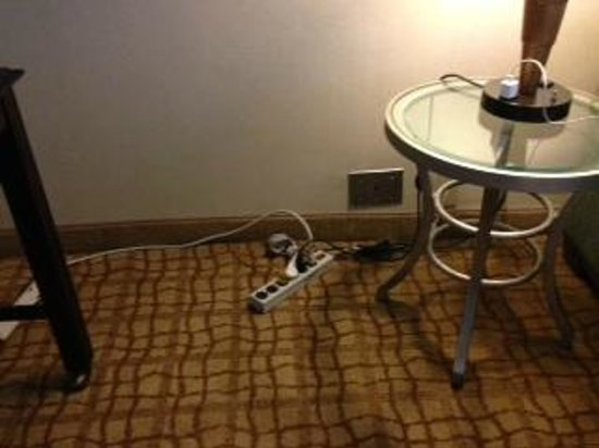 Doubletree Hotel Bethesda: Power strip