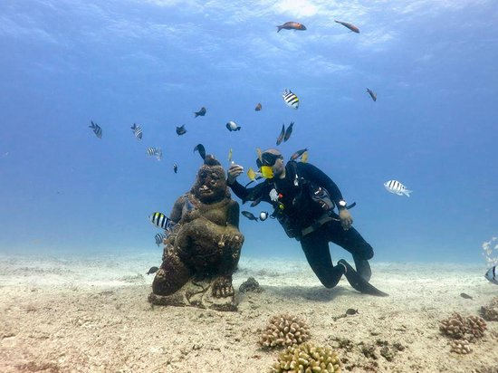Reef Pirates Diving: Selfie with Budha