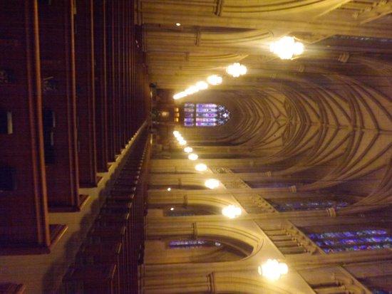 Duke University Chapel: insdie the chapel