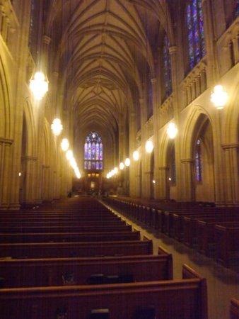 Duke University Chapel : insdie the chapel