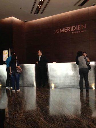 Le Meridien Bangkok: reception