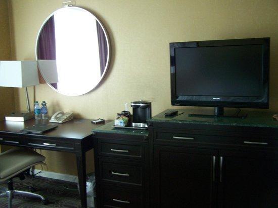 Hilton Harrisburg: inside room