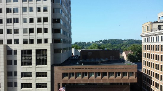Hilton Harrisburg: view from room 209