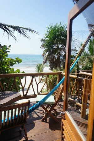 Ahau Tulum: view from room
