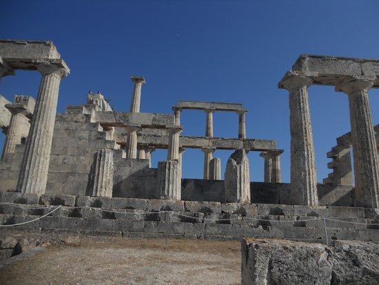Temple of Aphaia: Templo de Aphasia