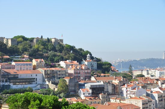 Miradouro da Graça : Vista desde el mirador