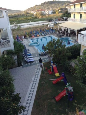 Danny's Hotel: view from balcony, room 319��