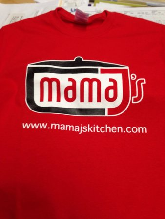 Mama J's Kitchen: Awesome shirts! The same ones staff wear and they are fairly priced!