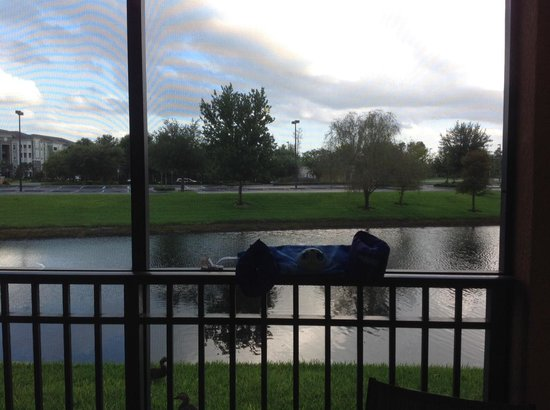 Floridays Resort: Picture of lake from room
