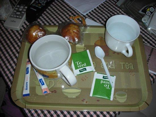 Pensio 2000: Tè verde e muffin offerti