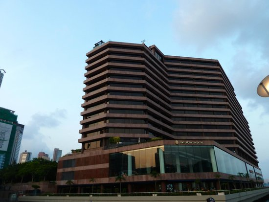 InterContinental Hong Kong: Outside View from Avenue of the Stars