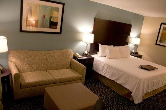 Hampton Inn Marshall: Guest suite