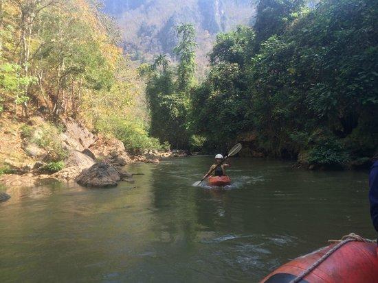 แม่น้ำปาย: Рафтинг и каякинг