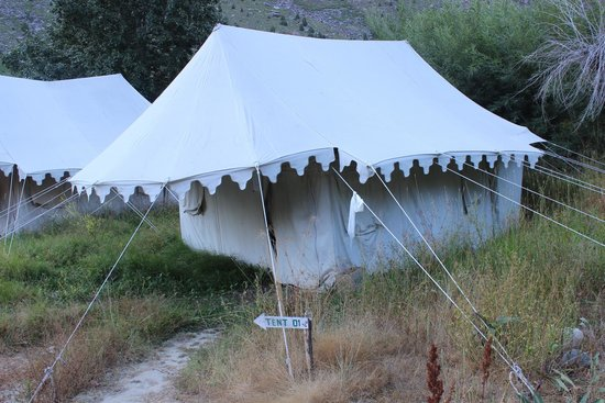 Jispa Journeys: tents