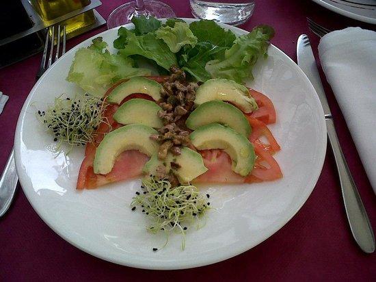El Curry Verde  Restaurante Vegetariano: ensalada