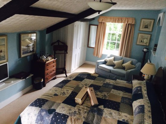 Farthings Country House Hotel and Restaurant : Sandalwood Room