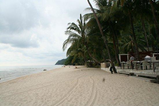 White Sand Beach: Viele Hotels und Restaurant in jeder preis lage