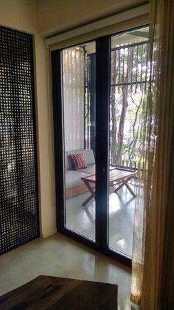 Andaz Peninsula Papagayo Resort : A private (as you want) balcony