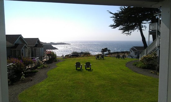 Sea Rock Inn: View from cottage 5