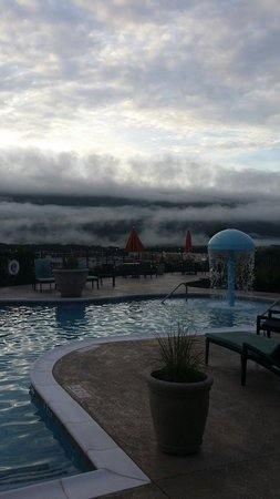 Hampton Inn Chattanooga West/Lookout Mountain: Early morning