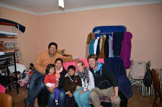 Homestay Bertha Sucre : die Familie