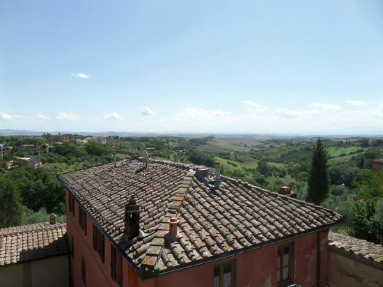 Hotel Santa Caterina: View from Room 19 on the balcony