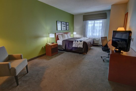 Sleep Inn & Suites: Non-smoking King, Accessible room_only 1 room