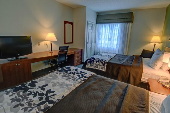 Sleep Inn & Suites: Standard room with 2 Queen beds