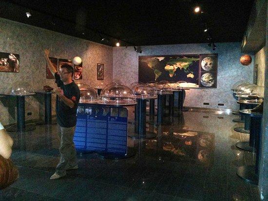 Mallorca Planetarium : Meteorite display