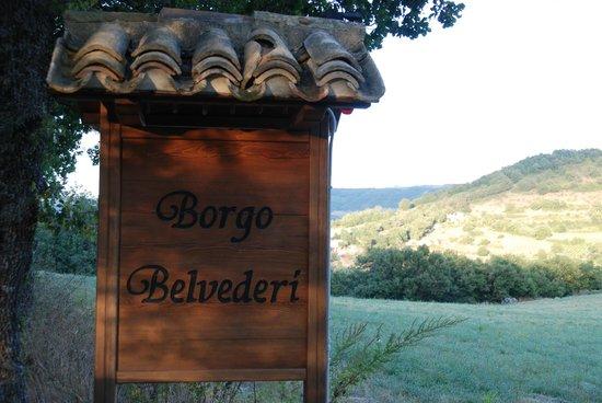 Borgo Belvederi : Arriving At The Borgo