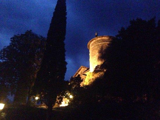 Ristorante Castel Toblino: Night view