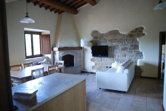 Borgo Belvederi: Dining / Living Room