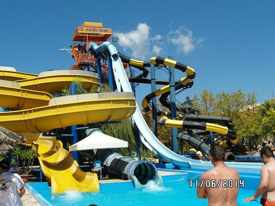 Aqualand Corfu waterpark - Picture of Aqualand Resort ...