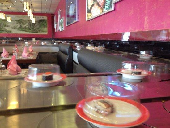 Asian restaurant in la