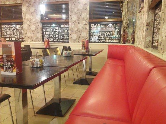 Travelodge Dublin Airport Swords: Café-Restaurante