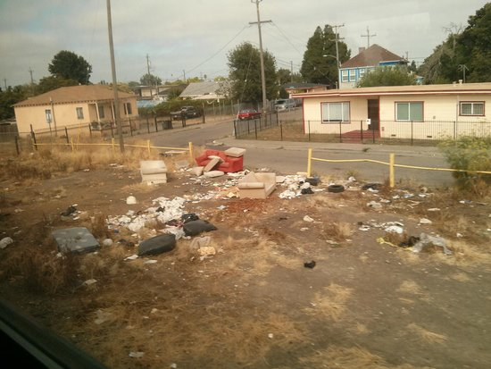 Coast Starlight: Some of the views really weren't that great...