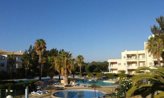 Turim Estrela do Vau Hotel: View from our balcony.