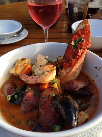The Lodge at Torrey Pines : Great food at the Grill
