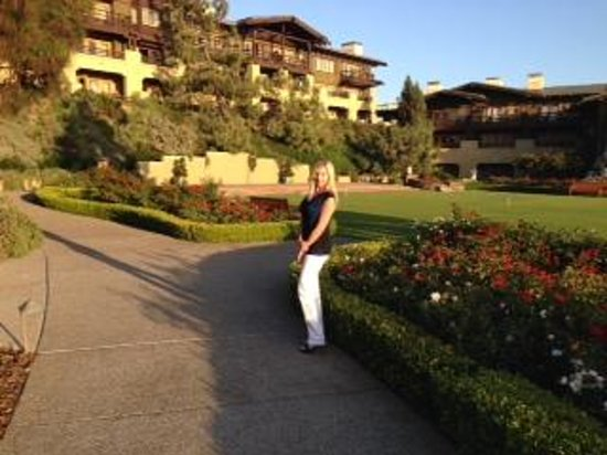 The Lodge at Torrey Pines: Gorgeous grounds