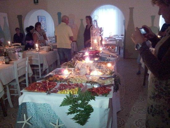 Hotel Trieste: cena al lume di candela