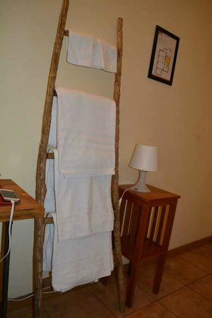 The Beehive: Towels were provided